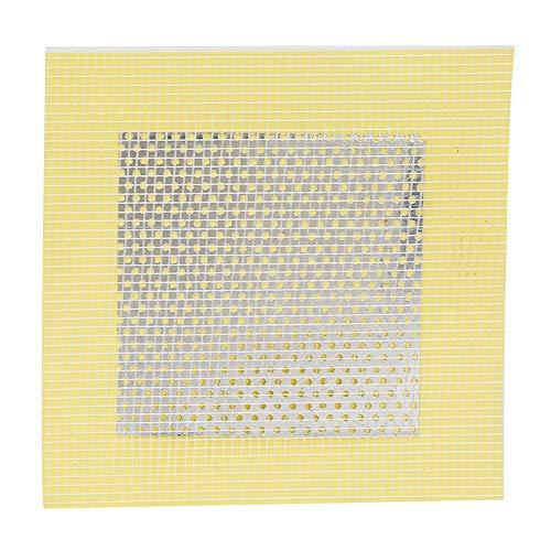 5-delige muurreparatiepatch, zelfklevend gipsplaatreparatiegereedschap glasvezel voor het repareren van beschadigde muren en plafonds(4 * 4in)