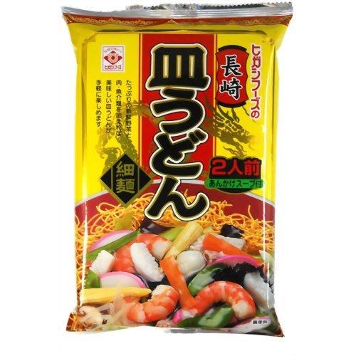 ヒガシマル ヒガシフーズの長崎皿うどん 細麺 2人前 あんかけスープ付 120.8g