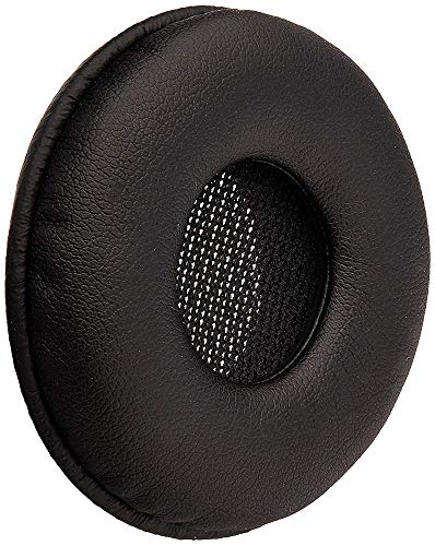 Jabra Ersatz-Kunstleder-Ohrkissen für Headsets der Biz 2300 Serie, Packung mit 10 Stück, schwarz