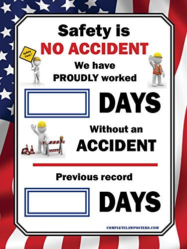 Days Without An Accident Poster
