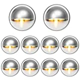 Pack of 10 Low Voltage LED Deck Light Kit Φ1.38'...