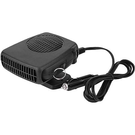 sbrinatore Automatico a 4 Fori con Ventola di Riscaldamento 12V Sbrinatore zhuolong Riscaldatore per Auto Regolabile 150W//300W