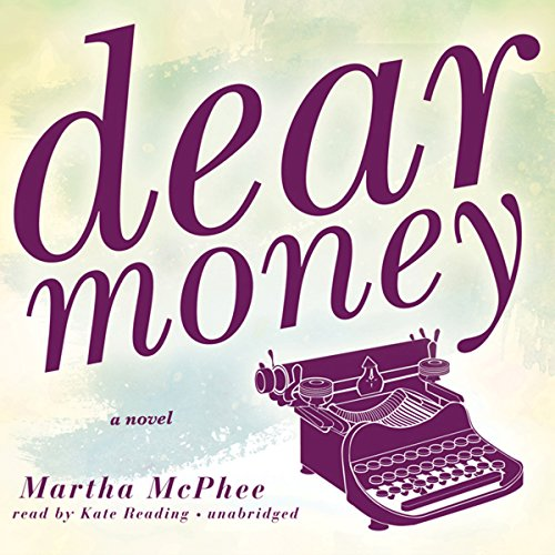 Dear Money audiobook cover art