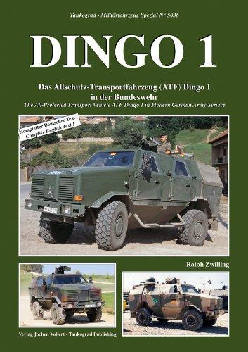 Tankograd, Nr. 5036: Dingo 1.  Das Allschutz-Transportfahrzeug in der Bundeswehr