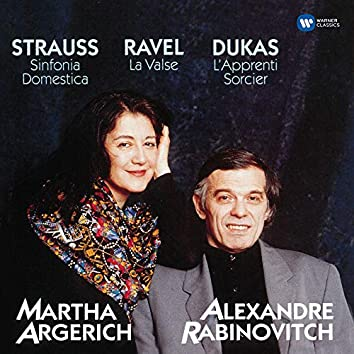 Dukas: L'apprenti sorcier - Strauss: Sinfonia domestica - Ravel: La valse
