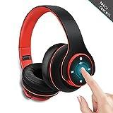 Bluetooth Kopfhörer, Zonciny Stereo Headset Funkkopfhörer - Mit Passiv Geräuschunterdrückung...