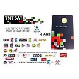 SATENCO Carte d'accès Intelligente à TNT Sat, 4 Ans