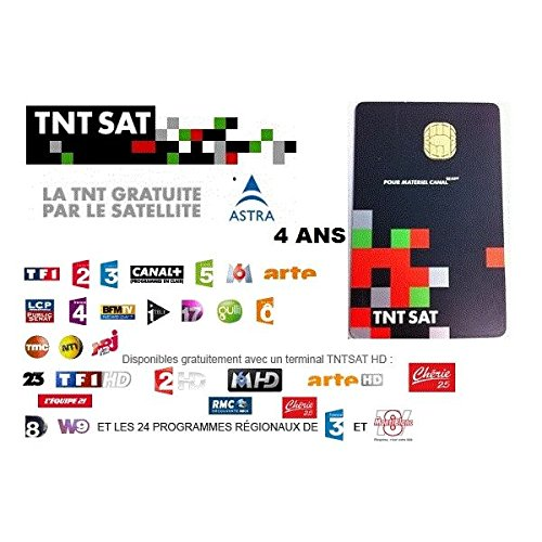 SATENCO TNT - Tarjeta Inteligente para satélite (4 años)