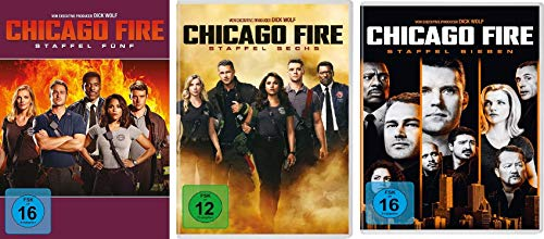 Chicago Fire - Staffel 5-7 (18 DVDs)