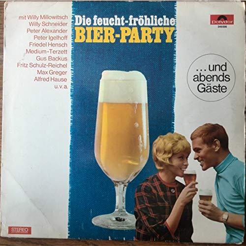 Die feucht-fröhliche Bier-Party ... und abends Gäste, Potpourri, Polydor Vinyl-LP 249006
