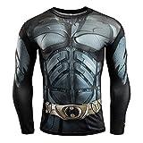 HOOLAZA Avengers Super Heroes Herren Langarm Kompressions T Shirt Herren Joggen...