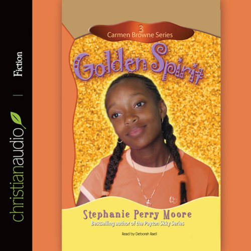 Golden Spirit audiobook cover art