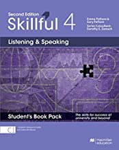Skillful 2nd edition Level 4 - Listening and Speaking/ Student's Book with Student's Resource Center and Online Workbook: The skills for success at university and beyond