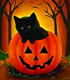 Halloween Kitten 300 pc Halloween Jigsaw Puzzle by SunsOut