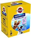 Pedigree Dentastix Snack per la Igiene Orale (Cane Piccolo 5-10 kg) 110 g 28 Pezzi - 4 Confezioni da 28 Pezzi (112 Pezzi totali)