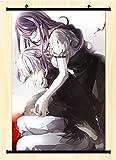 Aniplus Home Japanese Anime Tokyo Ghouls Kaneki Ken Kamishiro Rize Poster Wall Scroll Japanse 23.6 X 35.4 Inches 038