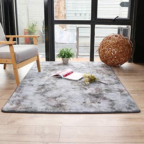 QWEASDZX Carpet Living Room Bedroom Decoration Carpet Rectangular Entrance Door Mat Kitchen Non-Slip Mat Living Room Carpet 120x160cm