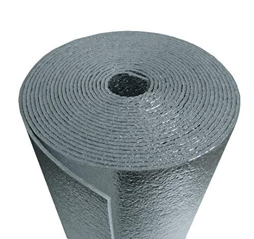 Reflective Foam Insulated Aluminum Foil Spiral Pipe Wrap Roll 6