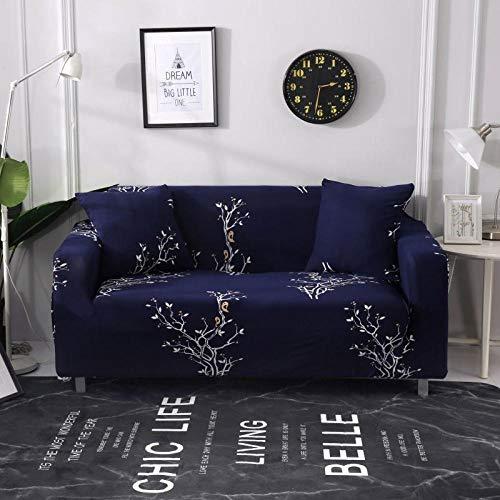 cubierta antideslizante en tejido elástico extensible 3 plazas y 4 plazas 2 piezas, fundas de sofá impresas en forma de L para sala de estar, fundas elásticas protectoras de sofá para esquinas