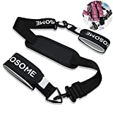 FAMILY PRO Ski Carrier Straps Shoulder Sling with Cushioned Holder Transport Ski Gear Downhill Skiing and Backcountry Gear and Accessories for Men, Women and Kids