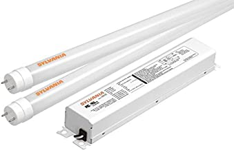 Sylvania 73366 Ultra HE T8 Led Four Lamp Retrofit Kit Replacing 4-Feet Fluorescent T12 or T8 Lamp, 3500K