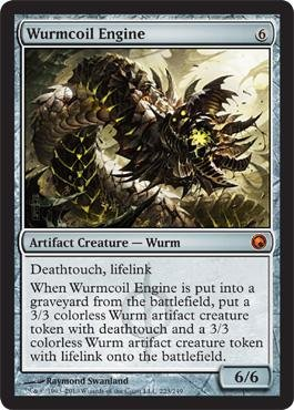 Magic: the Gathering - Wurmcoil Engine - Scars of Mirrodin - Foil