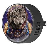 Josid 2 unids coche difusor de ventilación clip aromaterapia difusor de aceite esencial ambientador de coche – Space Wolf Dreamcatcher