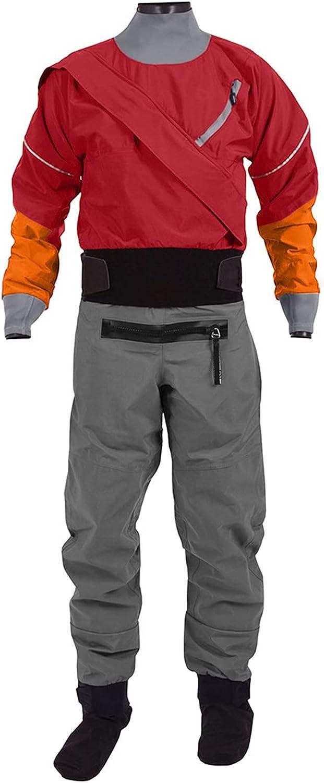 Max 63% OFF Drysuit Men's Front Zipper Sailing Standard Nylon Paddling Kayak OFFer