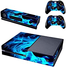 UUShop Protective Vinyl Skin Decal Cover for Microsoft Xbox One Console wrap sticker skins with two Free wireless controll...