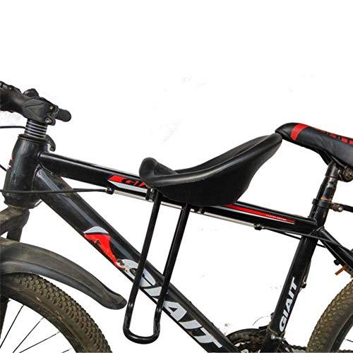 Axpdefi Asiento de Bicicleta Infantil para Bicicletas de montaña, Asientos de Bicicleta para niños montados en la Parte Delantera, Asiento de Bicicleta de montaña extraíble, Compatible con Todas Las