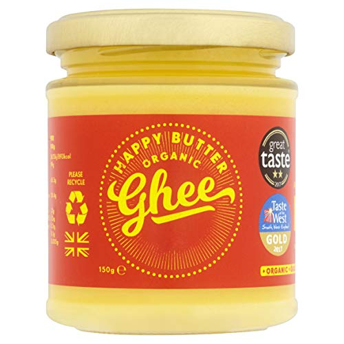 Happy Butter Organic Ghee 150g (Pack of 1)