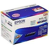 エプソン 純正 インクカートリッジ クマノミ KUI-6CL-M 6色パック ブラックのみ増量