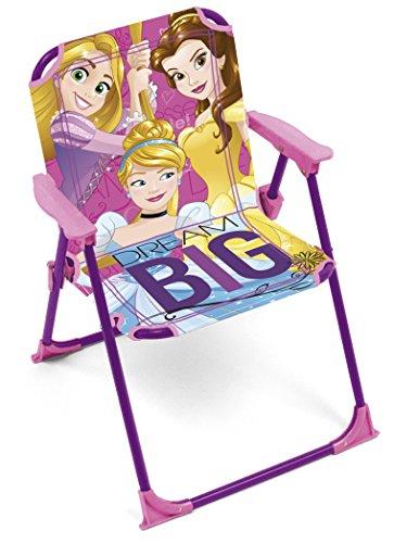 ARDITEX–Princesas Disney Silla Plegable para niños, wd9456u