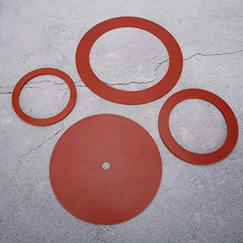 banapo Classic Pro Gasket, Silicone Group Gasket Professional Seal O-Gasket Gaskets O-Ring for Jewelry Casting Machine