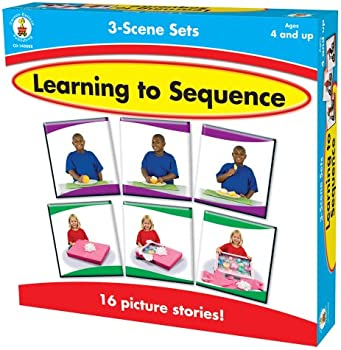 Carson-Dellosa Publishing 3-Scene: Learning to Sequence Game