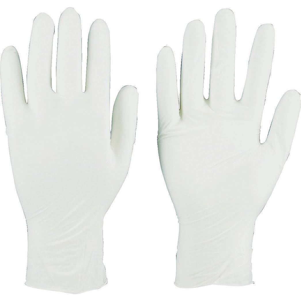偽物ベッドアラバマTRUSCO(トラスコ) ニトリル製使い捨て極薄手袋 粉無し  SS ホワイト(200枚入) TGL-440-SS