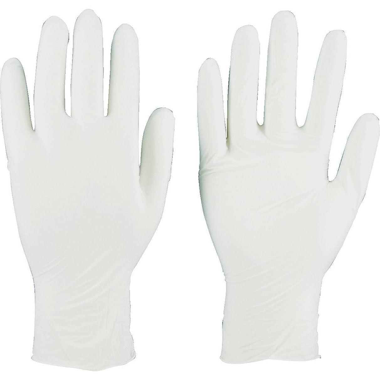不一致ペリスコープ残り物TRUSCO(トラスコ) ニトリル製使い捨て極薄手袋 粉無し  SS ホワイト(200枚入) TGL-440-SS