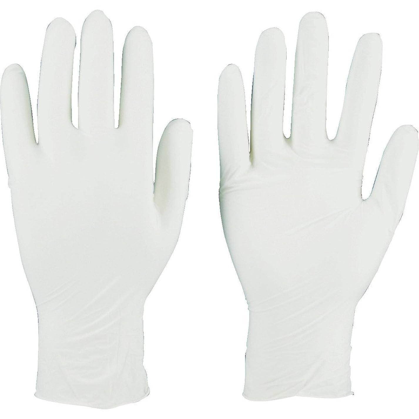 芸術正確なすTRUSCO(トラスコ) ニトリル製使い捨て極薄手袋 粉無し  SS ホワイト(200枚入) TGL-440-SS