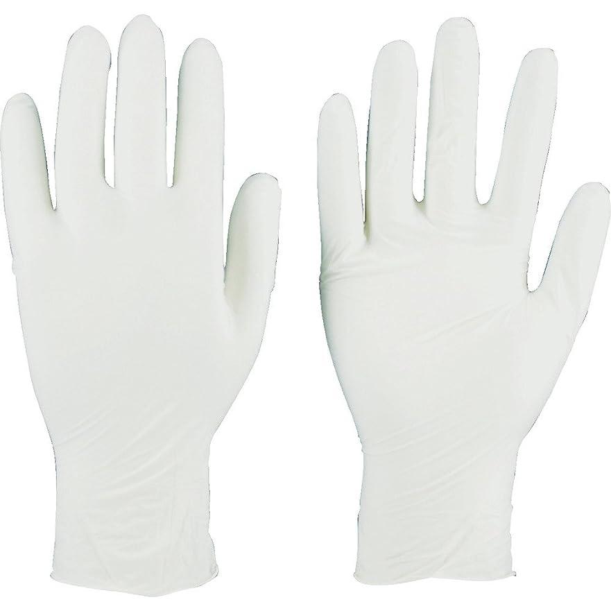報酬コンドーム速いTRUSCO(トラスコ) ニトリル製使い捨て極薄手袋 粉無し  SS ホワイト(200枚入) TGL-440-SS