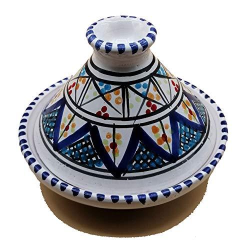 Mini Tajine Ethnico Gewürzständer aus Keramik Marokkanische Tunesin 1211201232