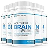 (5 Pack) Youthful Brain by Dr Sam Walters Memory Brain Health Supplement Vitamins Pills (300 Capsules)
