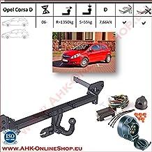 1993-2000 Anhängevorrichtung Anhängerkupplung AHK Opel Corsa B Schrägheck Bj