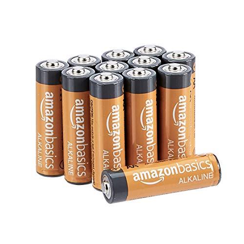 Amazon Basics - Pile Stilo Alcaline AA Performance, confezione da 12