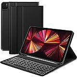Sross-TEC Funda con Teclado Compatible con Nuevo iPad ro 11 2021,...