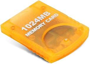 Qioni Cartão de memória de 1024 MB, cartão de memória, interruptor de proteção integrado de alta velocidade de grande capa...