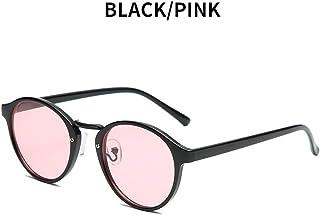 DishyKooker Fashion Retro Round Frame All Matching Night Vision Sunglasses