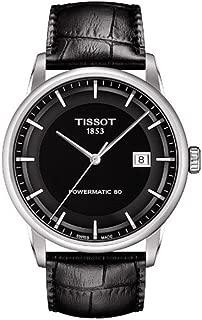 Tissot Men's T0864071605100 Luxury Analog Display Swiss Automatic Black Watch