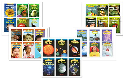 NEW - Scholastic Science Vocabulary Readers Books Complete Lot (30 Books) - Body/Animals/Nature/Space/Life Cycle