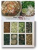 Pho Hanoi – 8 Gewürze Set für die vietnamesische Suppe (45g) – in einem schönen Holzkästchen – mit Rezept und Einkaufsliste – Geschenkidee für Feinschmecker von Feuer & Glas