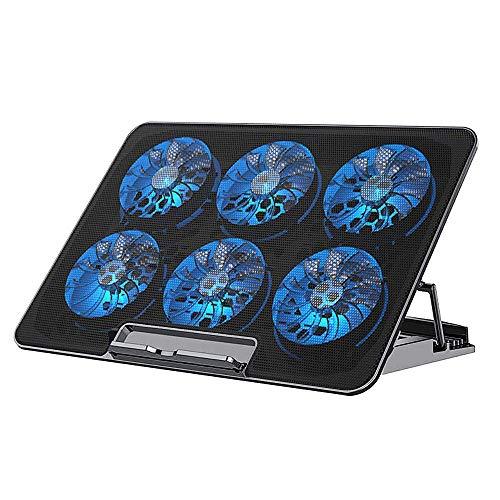 NIERBO Almohadilla de enfriamiento para computadora portátil Ideal para videollamadas o clases online, enfriador de computadora...